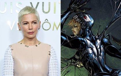 Michelle Williams revela su personaje en Venom, el spin-off de Spiderman