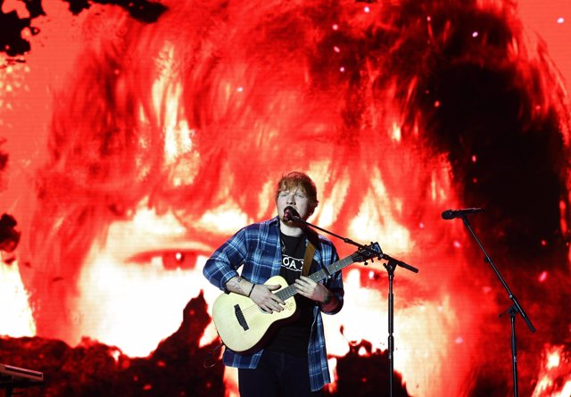 Review of the Year 2017: December: Ed Sheeran on stage during day two of Capital