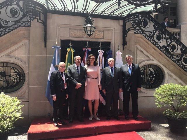 Cancilleres Mercosur