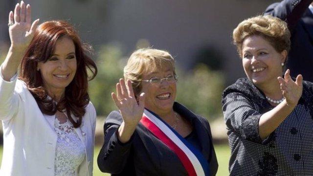Presidentas iberoamérica