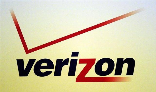 Imagen de archivo del logo de Verizon en una exposición en Lousiana, EEUU