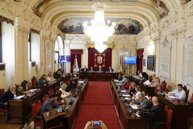Pleno extraordinario Málaga. Noviembre 2017
