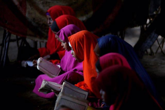 Refugiadas somalíes en Dadaab