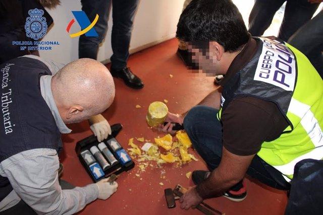 Detenido líder de red de cocaína en la Costa del Sol