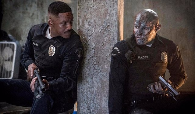 Will Smith y Joel Edgerton en 'Bright'