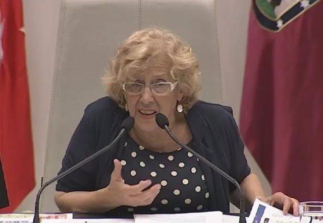 Manuela Carmena Debate del estado Ciudad