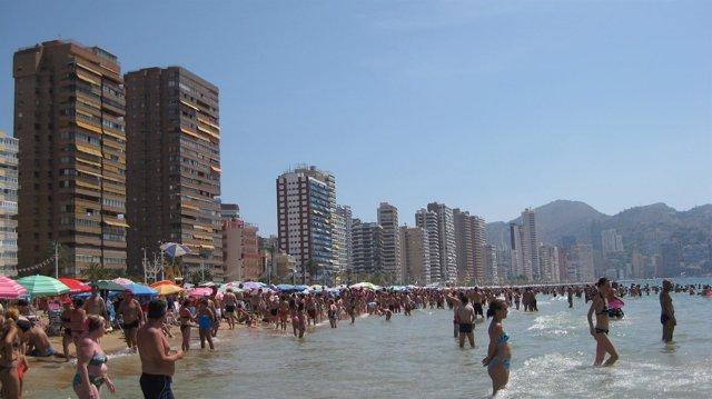 Apartamentos en la playa De Benidorm