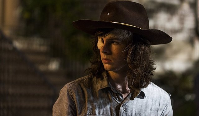 Chandler Riggs en 'The Walking Dead'