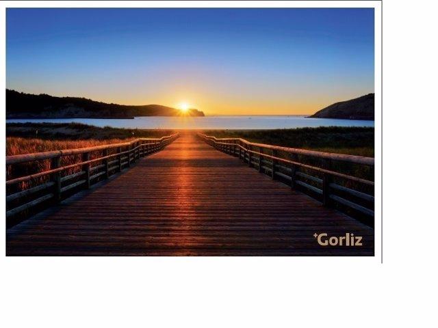Gorliz puesta de sol