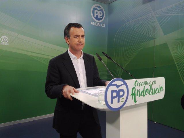 Pablo Venzal, hoy ante los medios