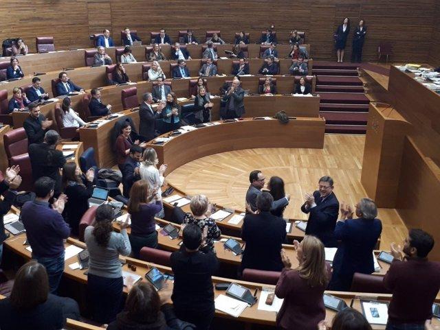 Aprobación de los presupuestos de la Generalitat 2018