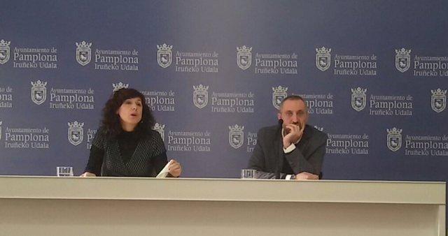 Patricia Perales y Arturo Ferrer.