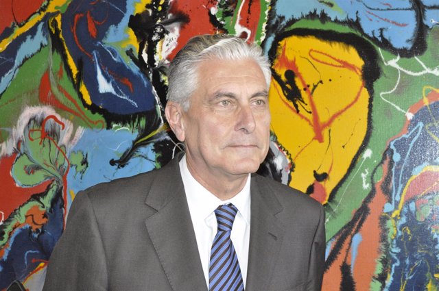 El diputado del PP, Antonio Suárez