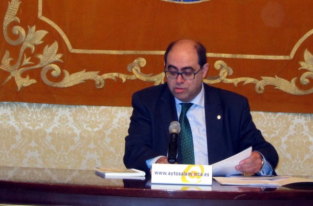 Fernando Rodríguez en el Ayuntamiento