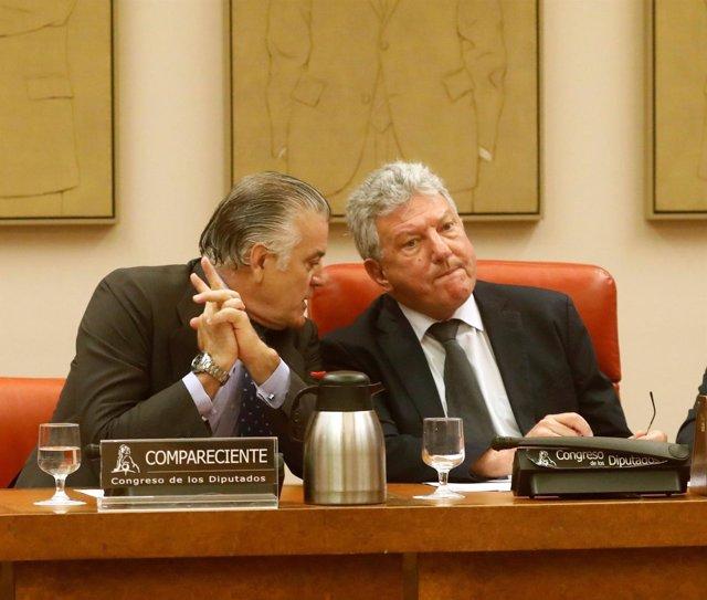 Luis Bárcenas y Pedro Quevedo