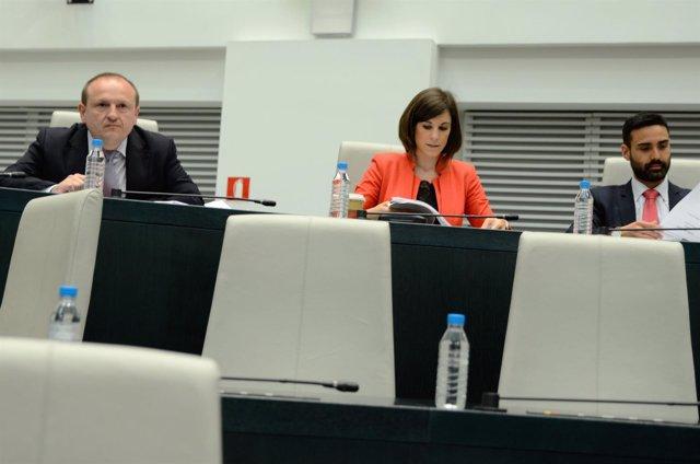 Miguel Ángel Redondo Rodríguez, Sergio Brabezo Carballo, Sofía Miranda Esteban