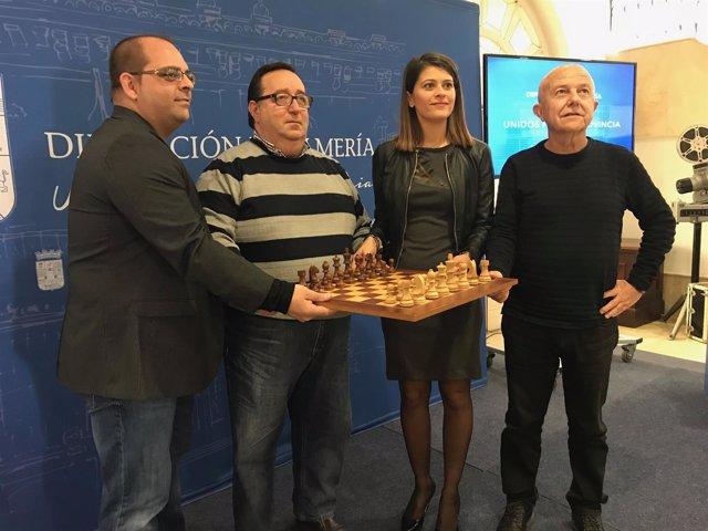 Roquetas de Mar celebra su Open Internacional de Ajedrez en el mes de enero.