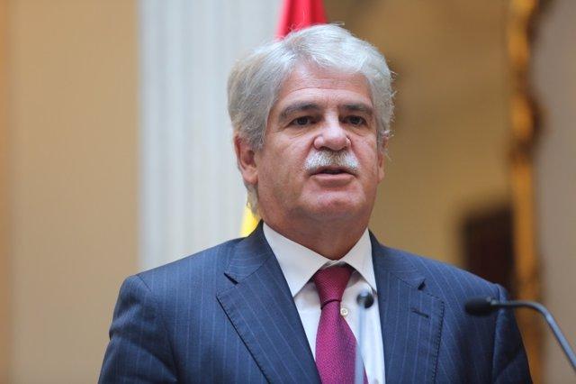 Alfonso Dastis en el Ministerio de Exteriores