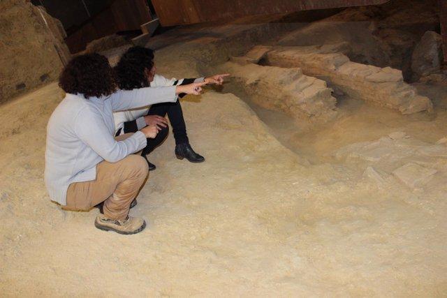 Comienzan a desenterra la bodega turdetana de San Juan.