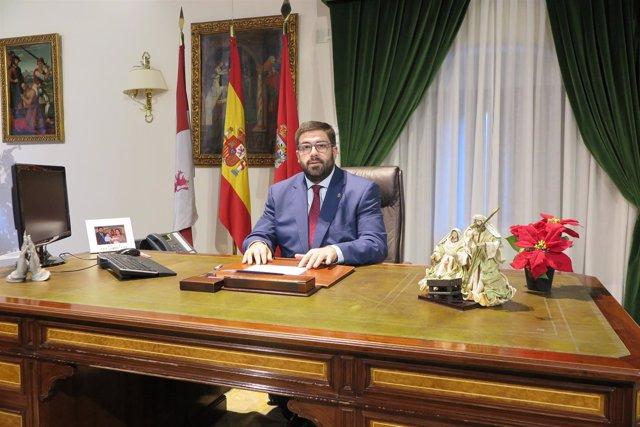 El presidente de la Diputación de Ávila, Jesús Manuel Sánchez Cabrera