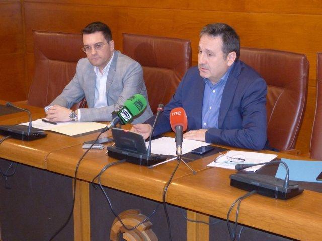 Juan Ramón Carrancio explica el acuerdo con PRC y PSOE