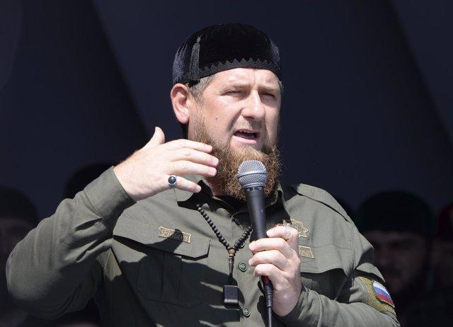 El presidente de la república rusa de Chechenia, Ramzan Kadirov