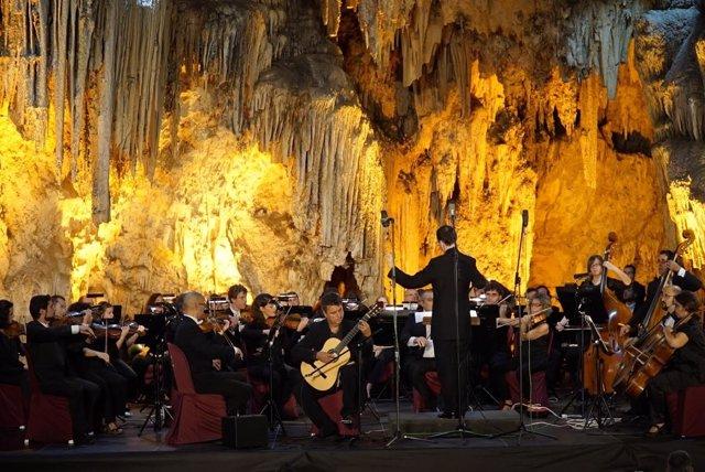 Cueva de Nerja, Concierto