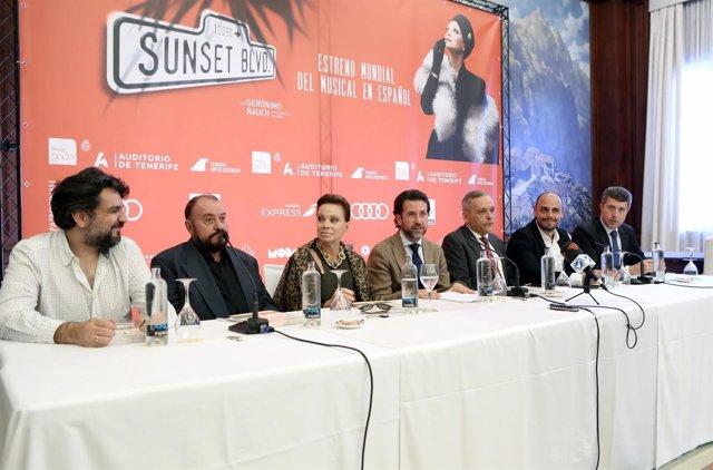 Nota De Prensa Y Fotografías: Auditorio Presentación Sunset Boulevard