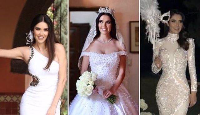 Vestidos de novia de actrices mexicanas