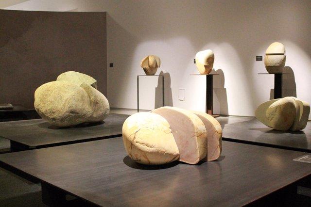 La exposición de Alberto Bañuelos.