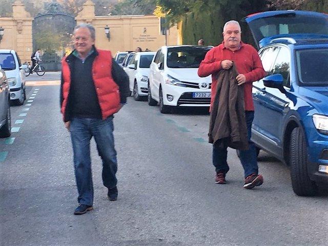 Pedro Pacheco llega a su casa por el permiso penitenciario de Navidad