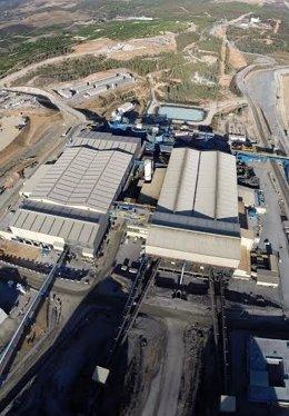 Matsa, yacimiento minero español de la provincia de Huelva, Andalucía.