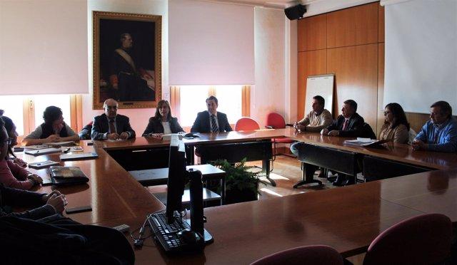 Reunión en Madrid entre el Ministerio y la Plataforma de Regantes del Condado.