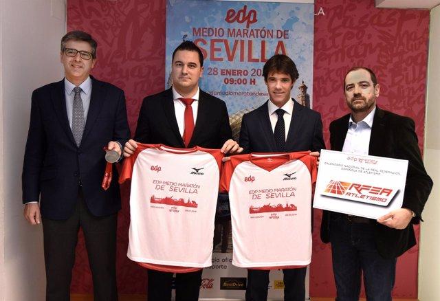 Presentación del Medio Maratón de Sevilla 2018