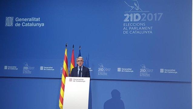 Segunda comparencencia para informar sobre la participación del 21D