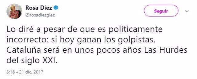 Tuit Rosa Díez