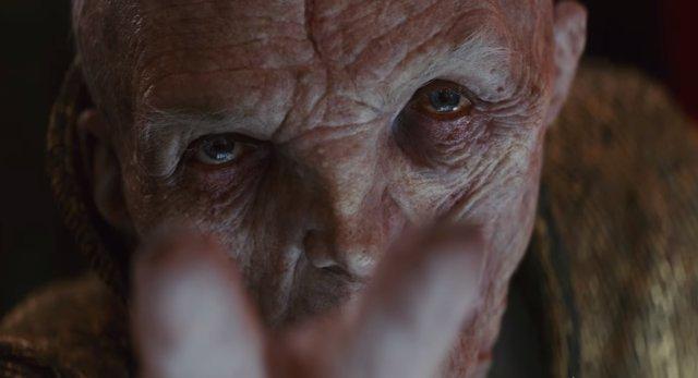 Líder Supremo Snoke en Los últimos Jedi