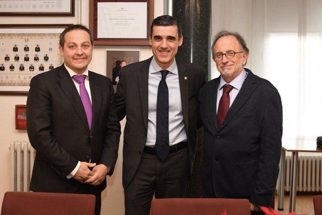 El president del Consell de l'Advocacia Catalana, Julio J. Naveira
