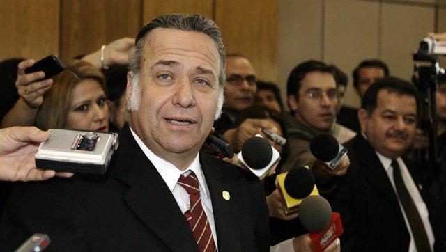 El senador paraguayo Óscar González Daher