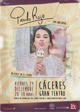Disponibilidad Entrevistas. Paula Rojo, Que Triunfó En 'La Voz', Presenta Su Nue
