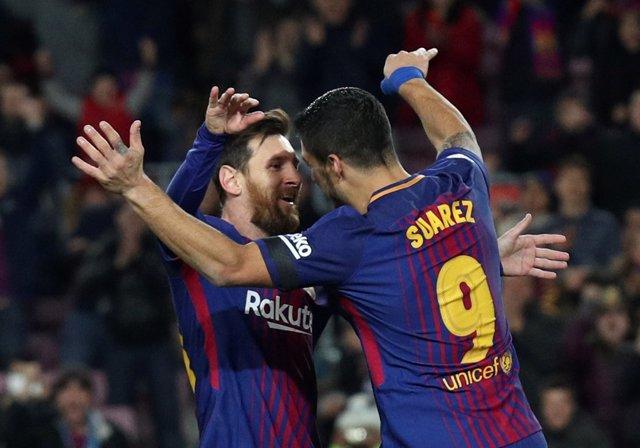 Messi y Suárez, FC Barcelona