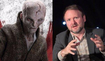 Rian Johnson defiende la escena más polémica de Snoke en Star Wars: Los últimos Jedi