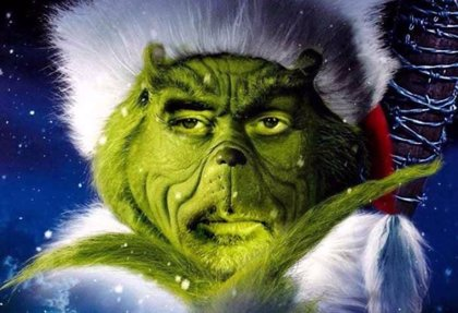 Negan es el Grinch en el nuevo cartel navideño de The Walking Dead