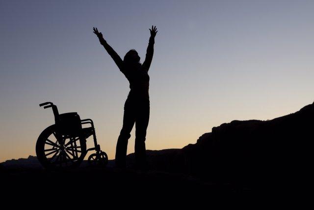 Curación milagrosa, milafros médicos, silla de ruedas