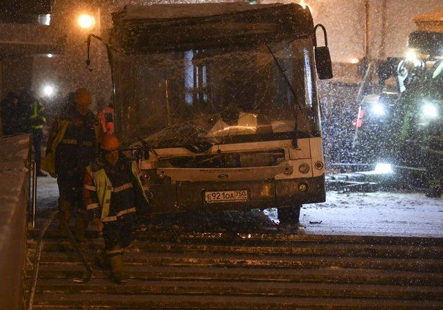Cinco personas muertas por un atropello en Moscú