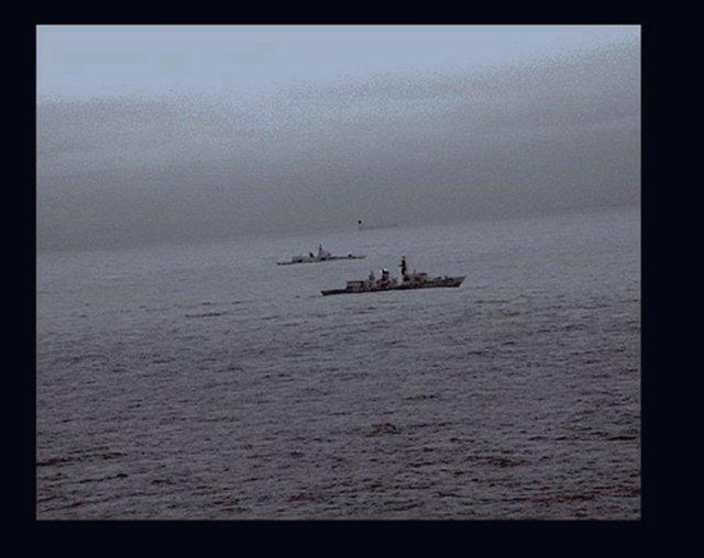 Fragata de Reino Unido escolta a un buque de guerra ruso cerca de aguas británic