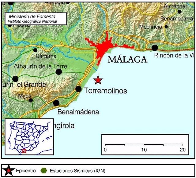 Seismo Torremolinos 26/12/2017