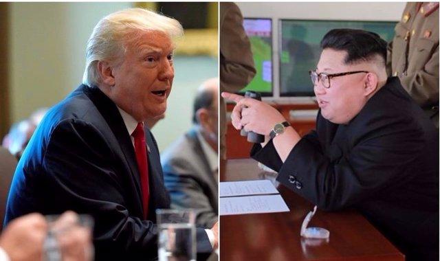 Donald Trum y Kim Jong Un