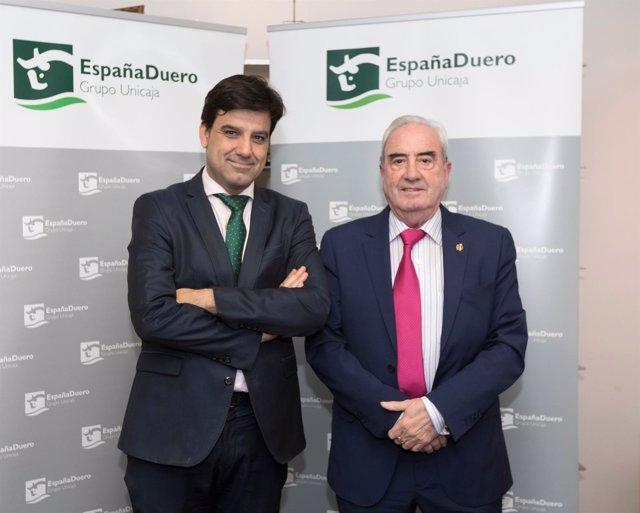 Acuerdo entre EspañaDuero y el Colegio de Aparejadores y Arquitectos