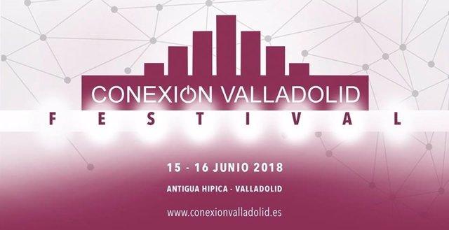 Anuncio del festival Conexión Valladolid